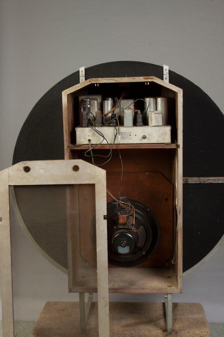 Sparton Floor Model Radio, Nocturne Model 1186 - 3
