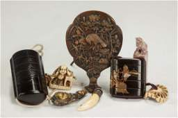 Group of Asian Items