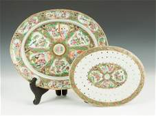 President Ulysses S. Grant Chinese Export Platter with