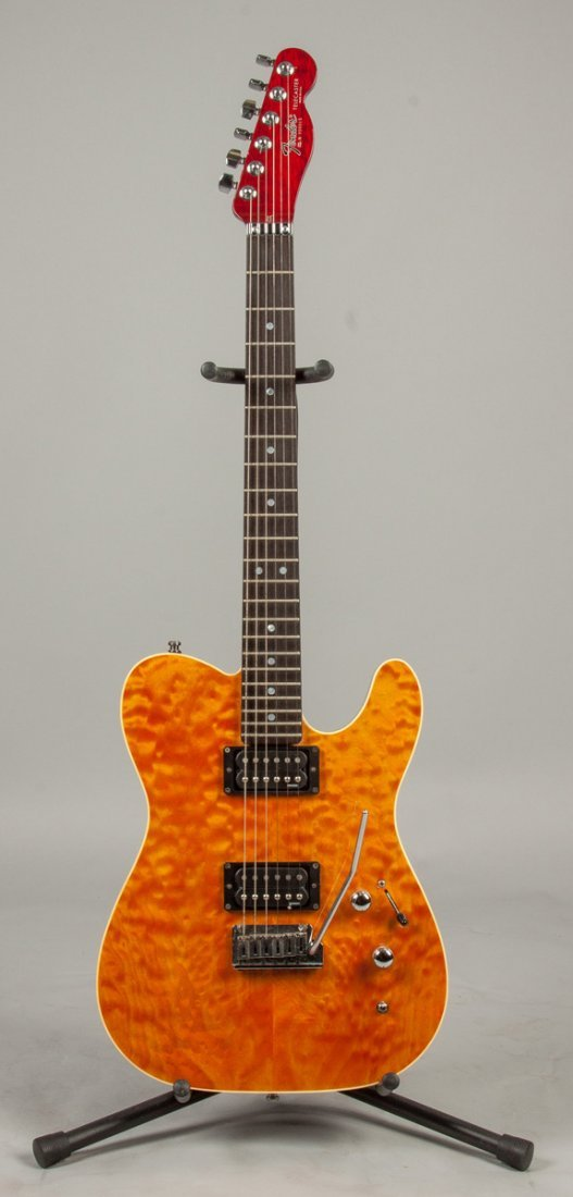 model sn custom shop set neck telecaster