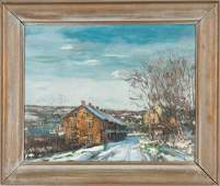 Walter Emerson Baum (American, 1884-1956) At the Edge