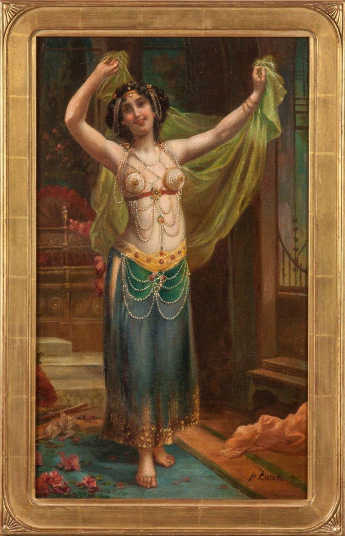 Hans Zatzka (Austrian, 1859-1945) Harem Girl