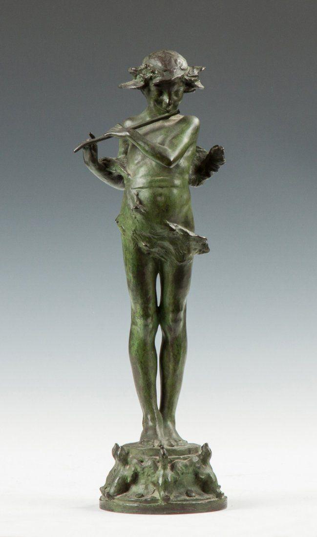 Edward McCartan (American, 1879-1947) Bronze of Pan