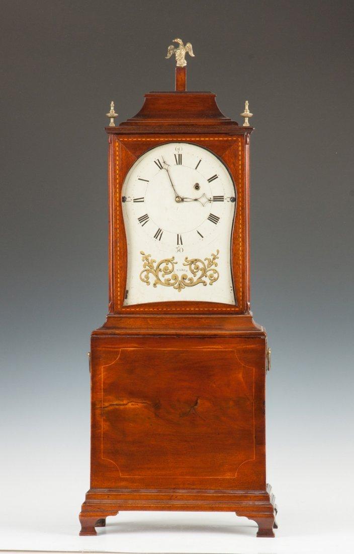 Fine & Rare Elnathan Taber Shelf Clock,  Roxbury, MA