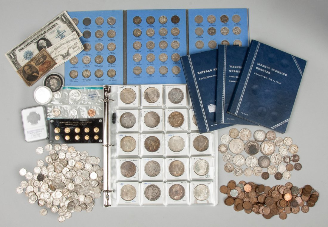 Large Coin Collection