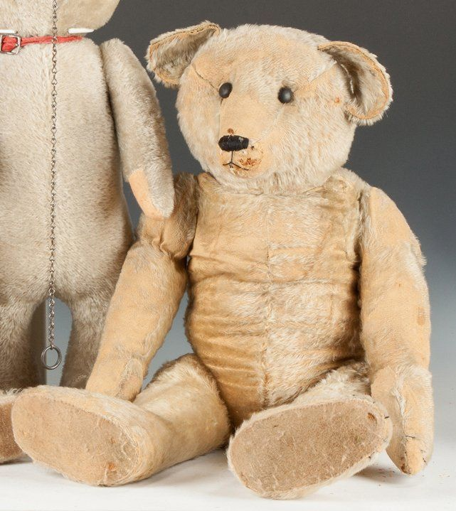 Early Steiff Teddy Bear