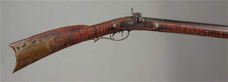 Early Tiger Maple Long Gun