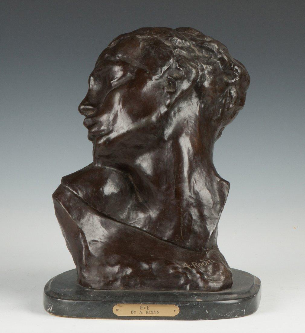 Eve by A. Rodin Recast Bronze