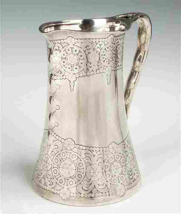 Unusual Hand Hammered and Chased Tiffany & Co. Makers