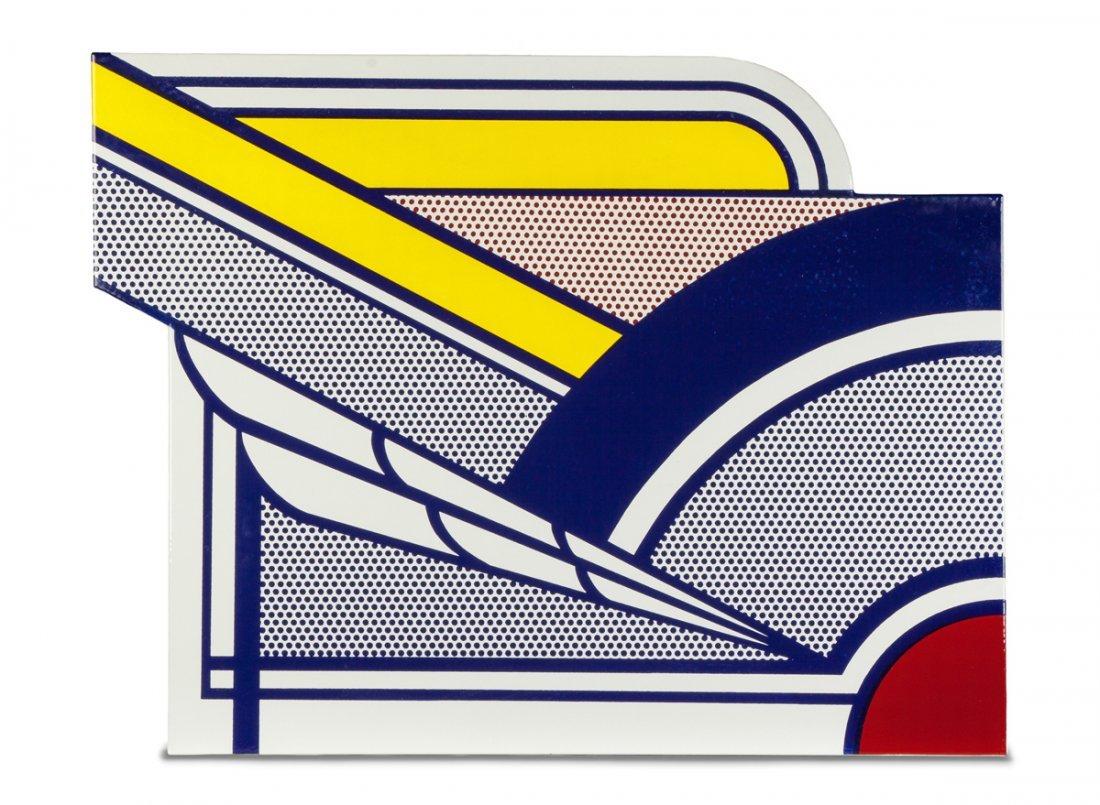 """Roy Lichtenstein (American, 1923-1997) """"Modern Painting"""