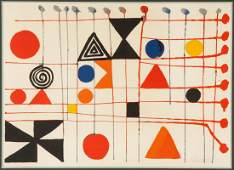 Alexander Calder American 18981976 Quilt