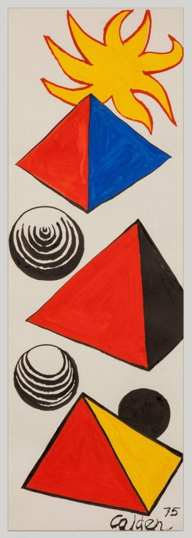 "Alexander Calder (American, 1898-1976) ""R"""