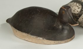 Carved & Painted Duck Decoy