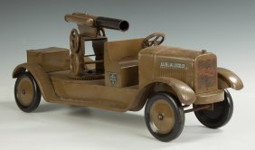 "Dayton ""sonny"" Pressed Steel Anti-aircraft Truck"