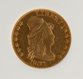 1807 Capped Bust Five Dollar