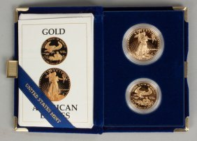 1987 American Eagle Gold Bullion Coins