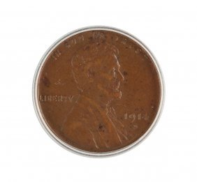 1914-d Lincoln Wheat One Cent