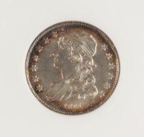 1831 Capped Bust Twenty Five Cent