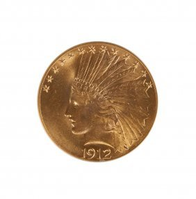 1912 Indian Head Ten Dollar