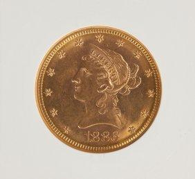 1886-s Liberty Head Ten Dollar