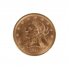 1894 Liberty Head Ten Dollar