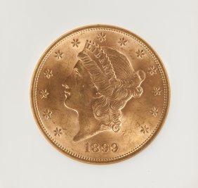 1899 Liberty Head Twenty Dollar