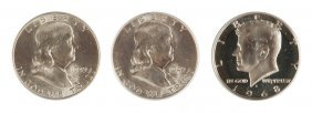 Three Fifty Cent Coins