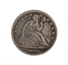 1840 Seated Liberty Half Dollar