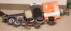 Group Of Vintage Camera Accessories
