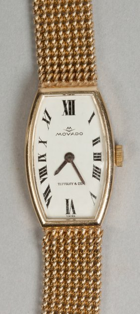 Movado 14k Gold Watch