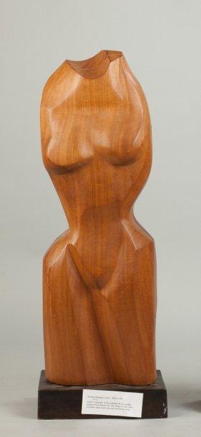 Frances Hulmes (american, 1916-2010) Female Torso