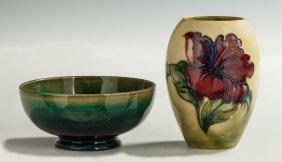 Moorcroft Bowl & Vase