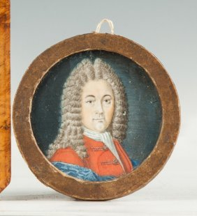 Miniature Of Louis Xiv