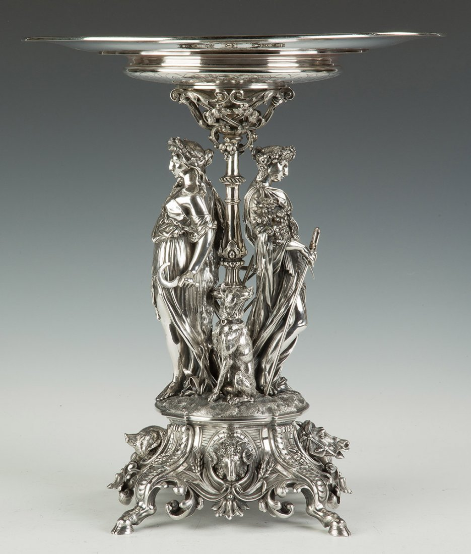 Fine and Monumental French Sterling Silver 1858 - 2