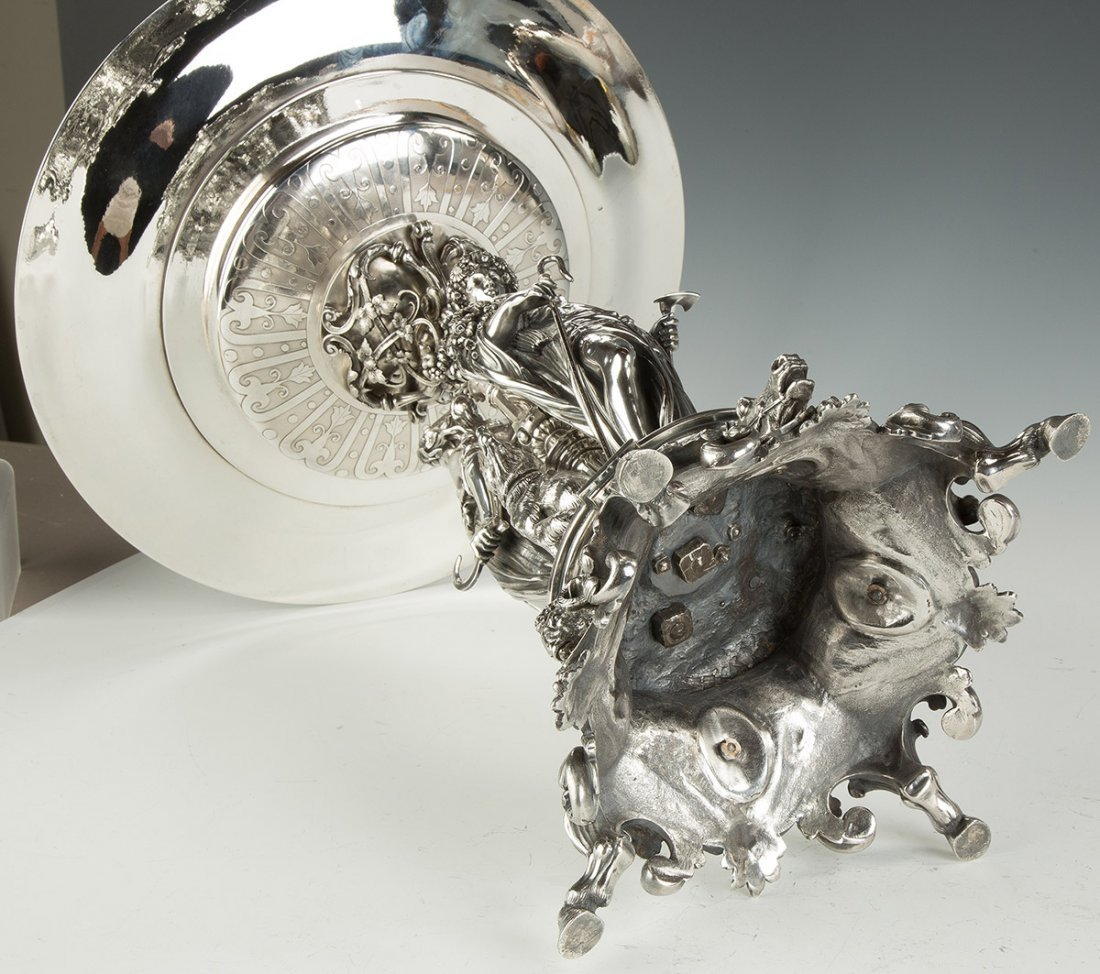 Fine and Monumental French Sterling Silver 1858 - 3