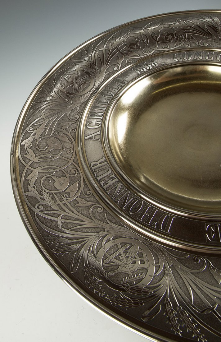 Fine and Monumental French Sterling Silver 1858 - 4