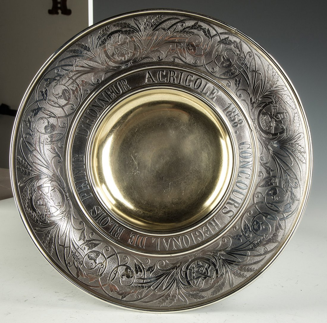 Fine and Monumental French Sterling Silver 1858 - 5