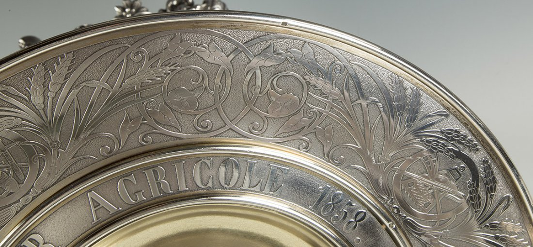 Fine and Monumental French Sterling Silver 1858 - 6