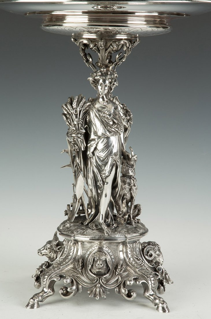 Fine and Monumental French Sterling Silver 1858 - 7