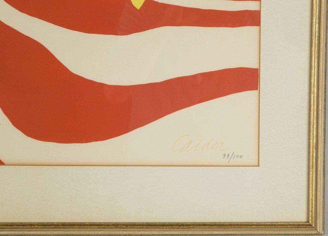 Alexander Calder (American, 1898-1976) Sun Face & Moon - 2