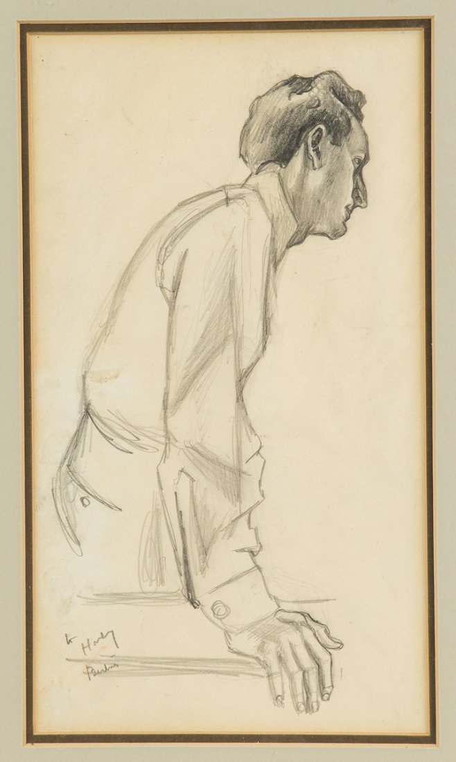 Thomas Hart Benton (American, 1889-1975) Portrait of
