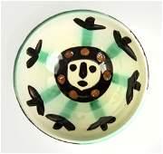 Pablo Picasso Ceramic Visage Bowl