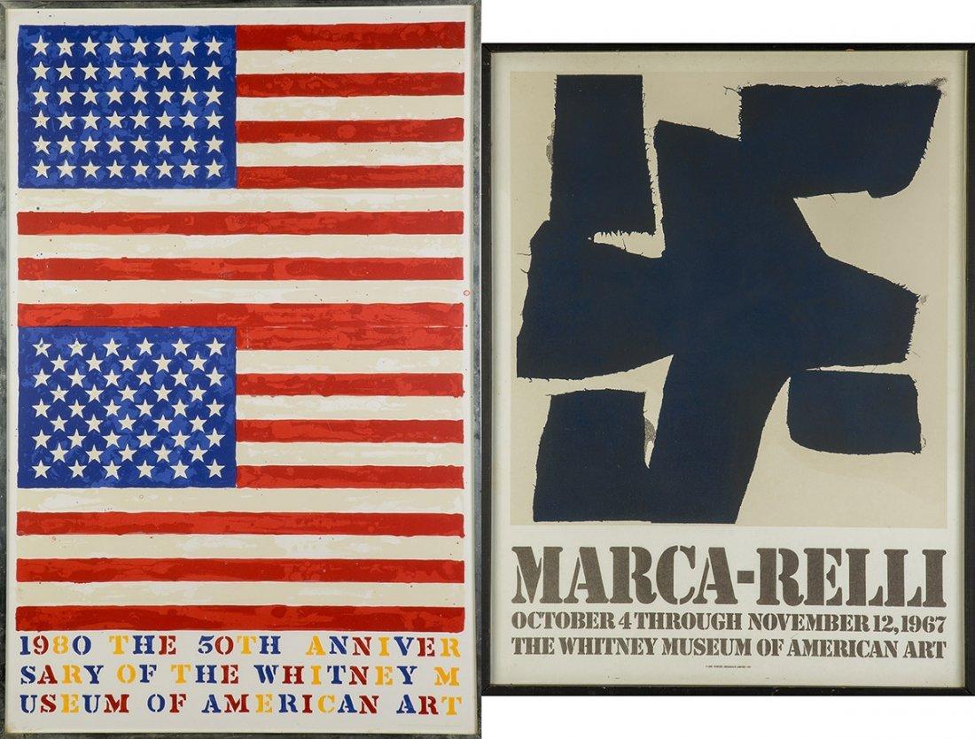 Jasper Johns (American, Born 1930) and Marca-Relli