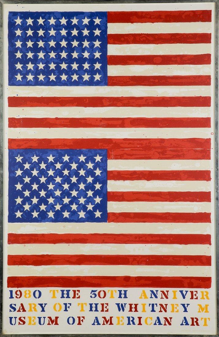 Jasper Johns (American, Born 1930) and Marca-Relli - 2