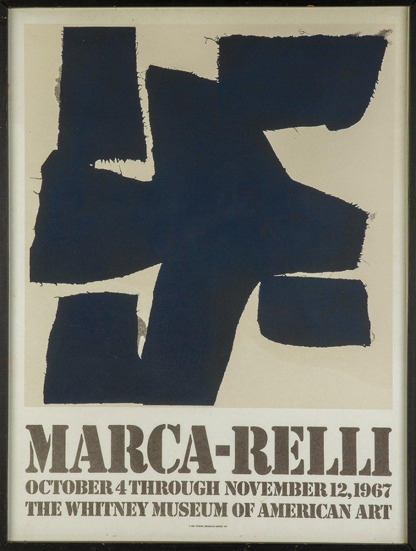 Jasper Johns (American, Born 1930) and Marca-Relli - 3