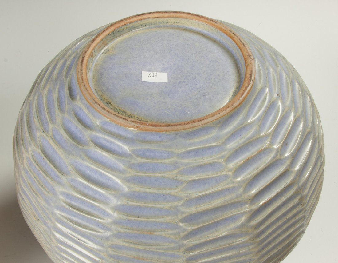 Japanese Ceramic Vase, Basket Form - 2