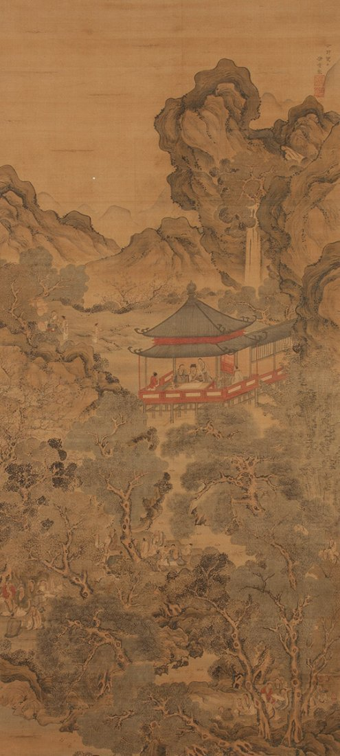 Five Chinese Scrolls - 2