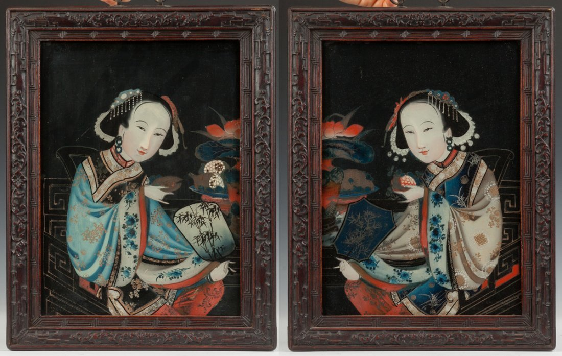 Two Chinese Portraits