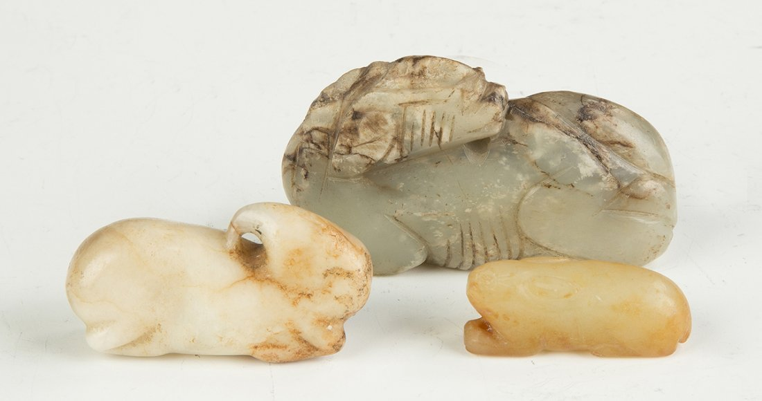 Chinese Carved Jade Creatures