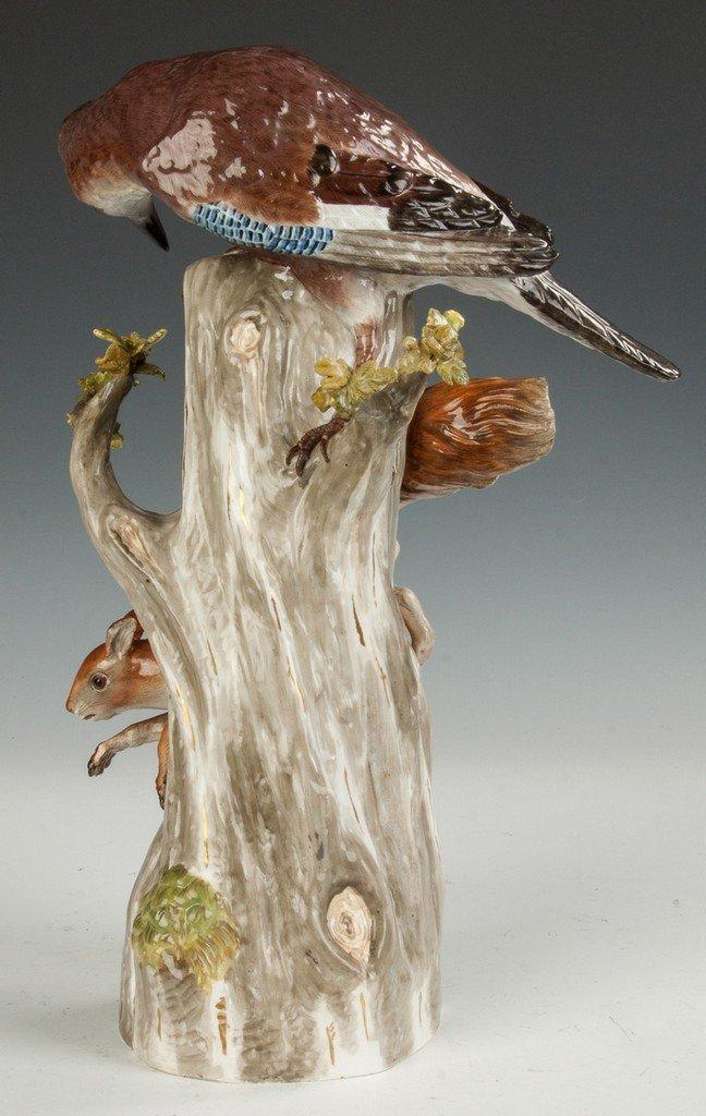Meissen Bird & Squirrel - 3